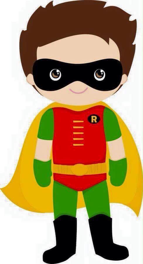489x900 Hero Clipart Robin