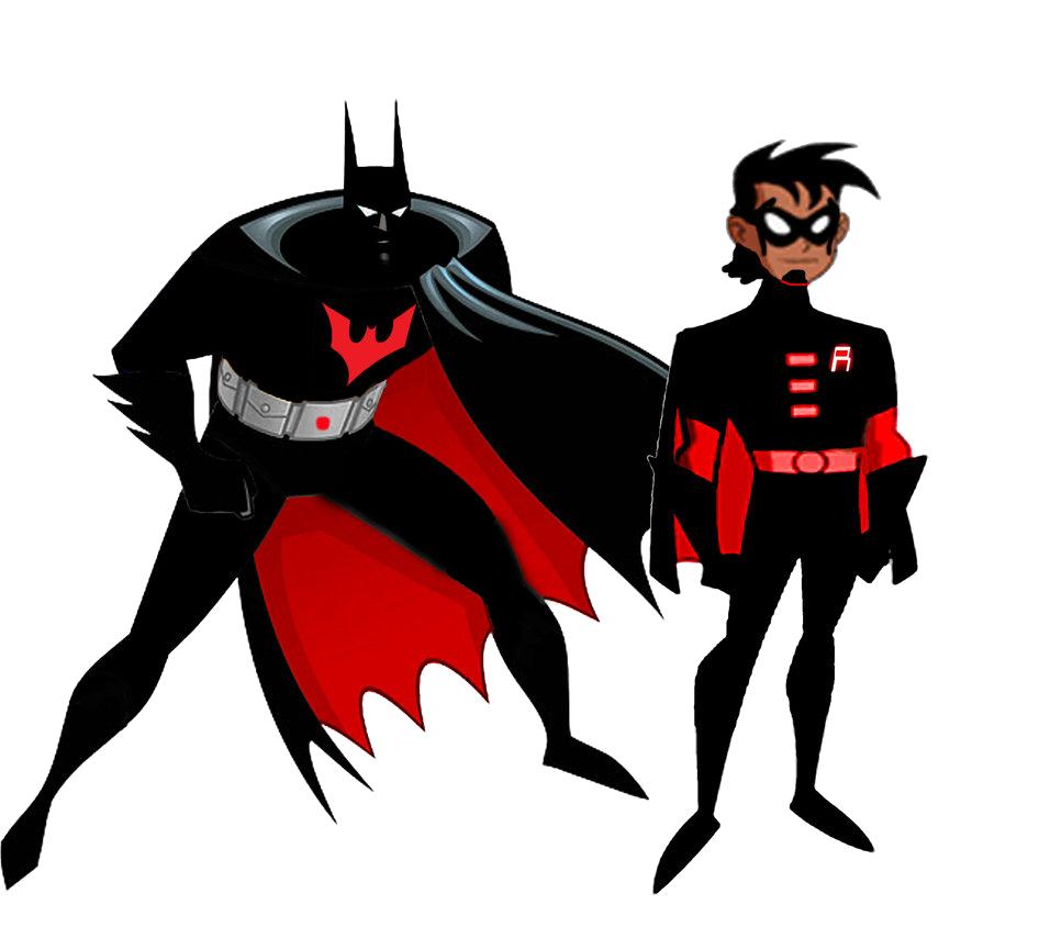 946x844 Batman And Robin Beyond By Stick Man Clip Art