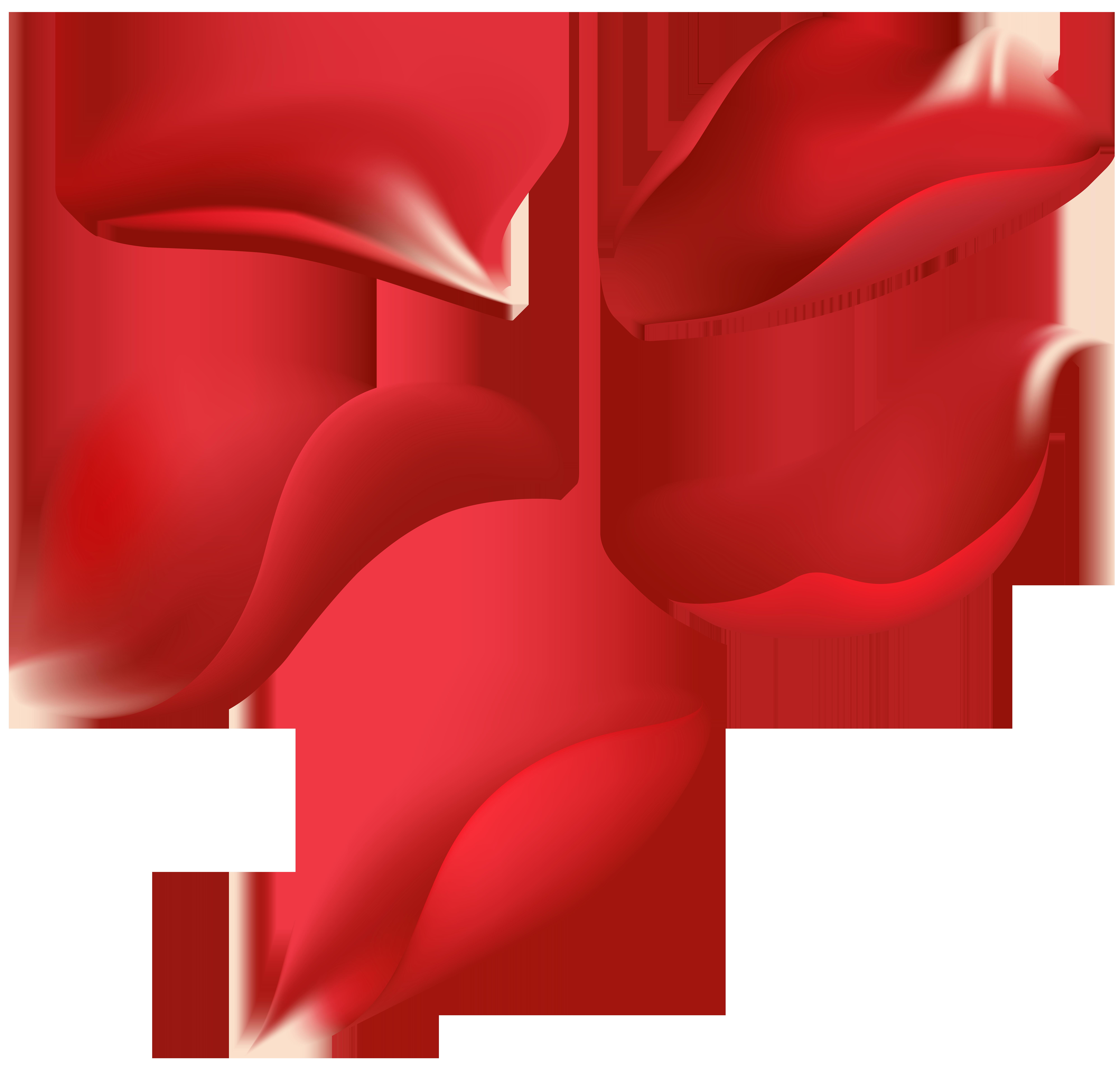 8000x7638 Red Rose Petals Transparent Clip Art Imageu200b Gallery Yopriceville
