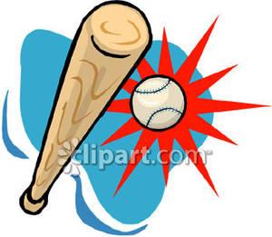 300x261 Baseball Clipart Baseball Hit