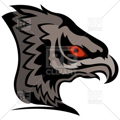 400x400 Head Of Menacing Eagle