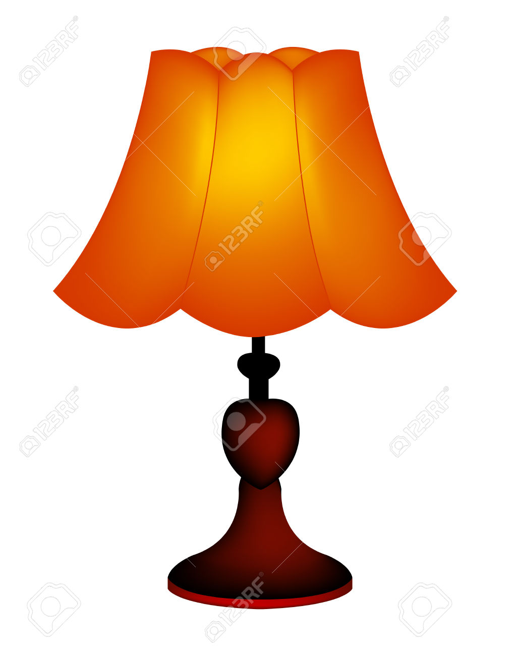 1011x1300 Lamp Clipart Table Lamp