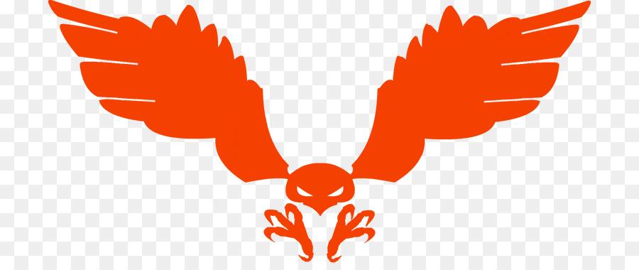 900x380 Symbol Red Tailed Hawk Logo Clip Art