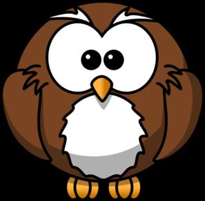 297x291 Brown Hawk Owl Clipart Line Art