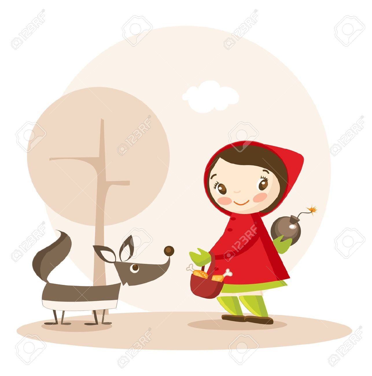 1286x1300 Red Riding Hood Clipart Kid