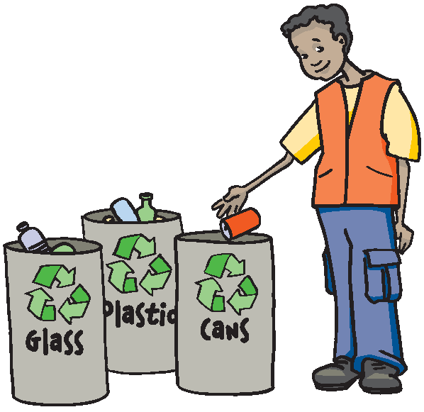 598x581 Reduce Reuse Recycle Bins Clipart