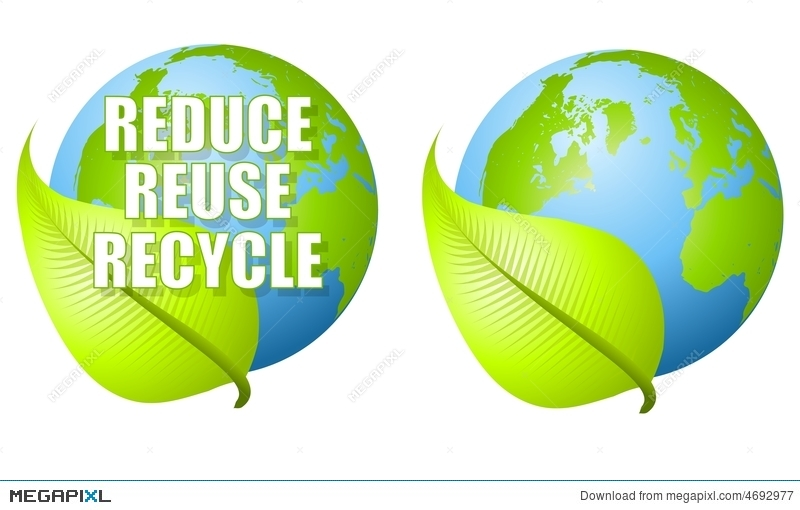 800x510 Reduce Reuse Recycle Leaf Earth Illustration 4692977