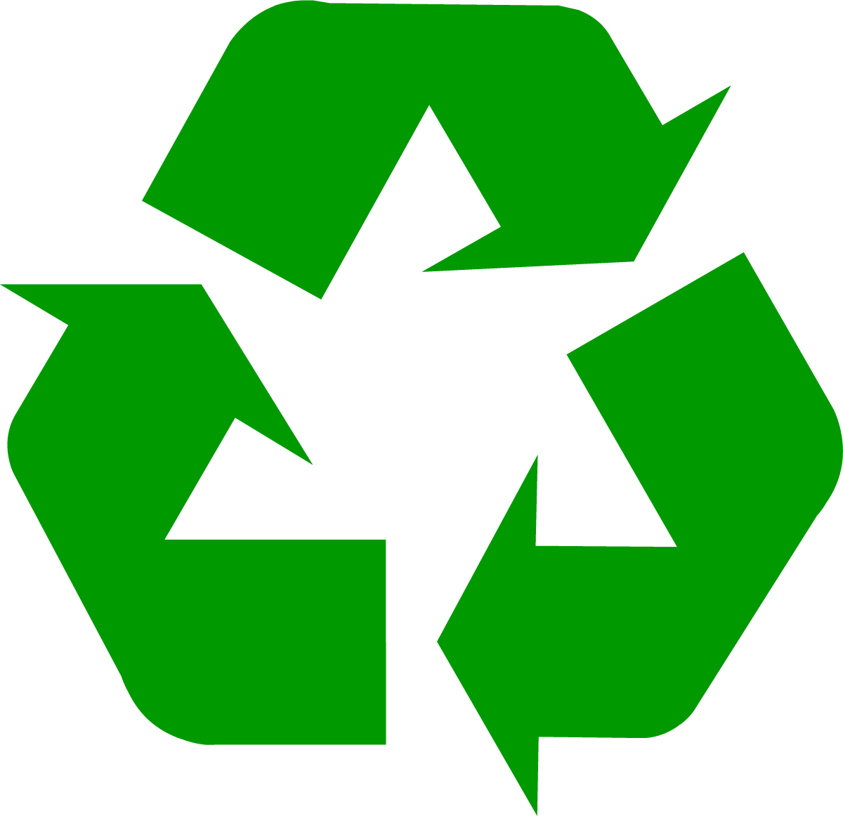 1200x1161 Download Recycling Symbol