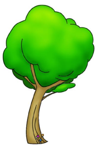 400x600 Cartoon Trees St Free Images