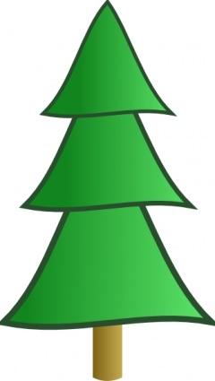 240x425 Clip Art Pine Tree