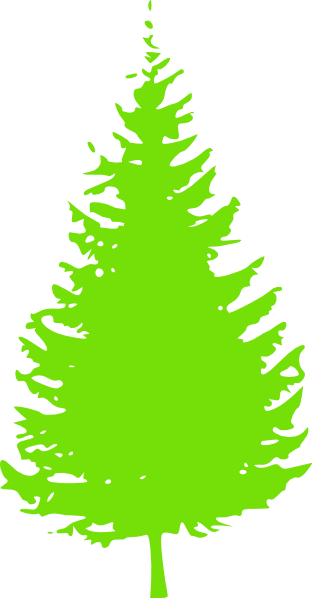 312x598 Pine Clipart Short Tree