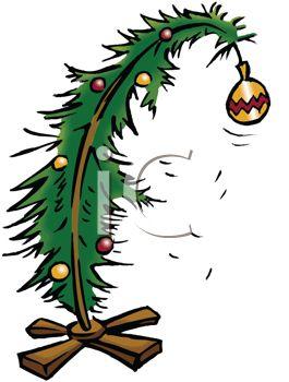 265x350 Royalty Free Clip Art Image Sad Little Christmas Tree