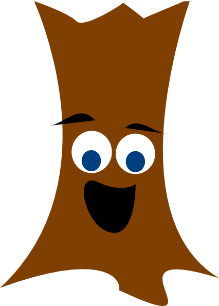 426x595 Brown Tree Clipart