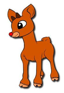 Reindeer Cartoon Clipart
