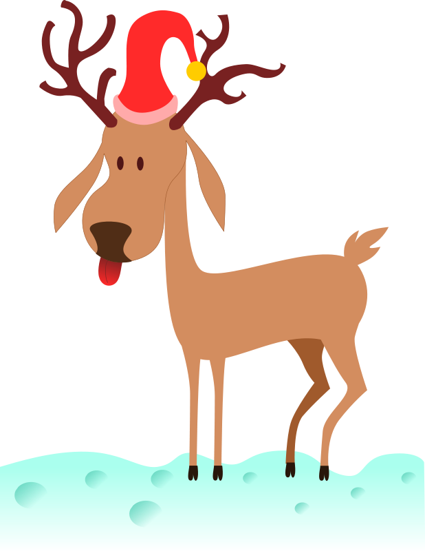 618x800 Reindeer Clipart