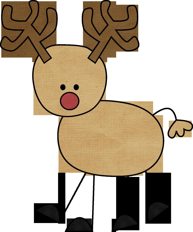 1223x1475 Reindeer Clip Art Clipart