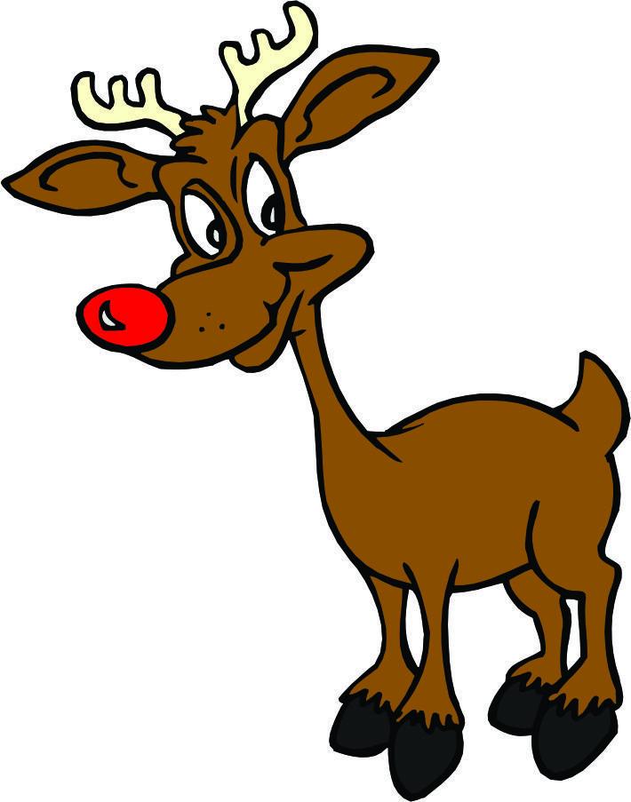 710x903 8 Reindeer Clip Art Back To Cartoon Clipart From Cartoon
