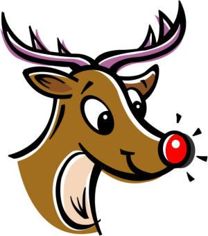 300x340 Rudolph Christmas Clipart Clip Art Library