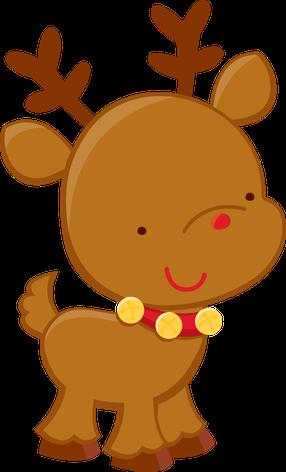 286x472 Christmas Reindeer Clip Art Clip Art
