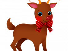 reindeer clipart free at getdrawings com free for personal use rh getdrawings com cute santa and reindeer clipart cute baby reindeer clipart