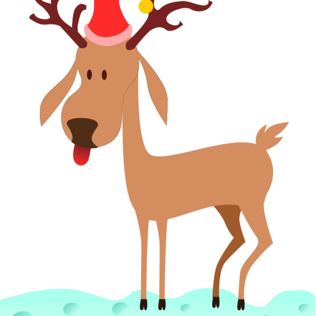 1024x1024 Reindeer Clipart 4th Of July Clipart