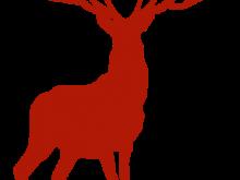 220x165 Reindeer Silhouette Clipart Reindeer Silhouette Clip Art
