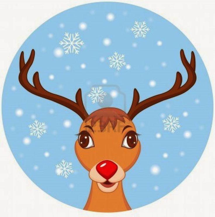 736x745 Reindeer Clipart Three