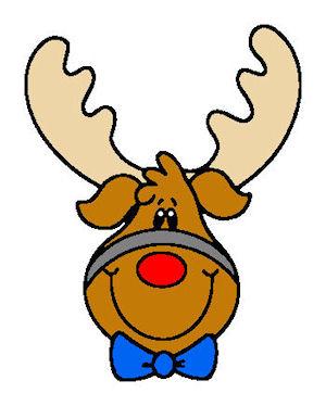 300x374 Cartoon Reindeer Clip Art At Vector Clip Art