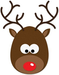 reindeer face clipart at getdrawings com free for personal use rh getdrawings com how to draw cartoon reindeer face reindeer facebook cartoon