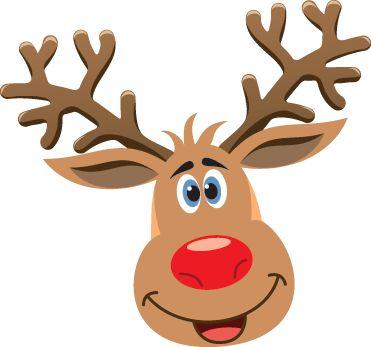 371x347 Reindeer Face Clipart Ec0b420e59d5362f8281a27cc6ec6615 Cartoon