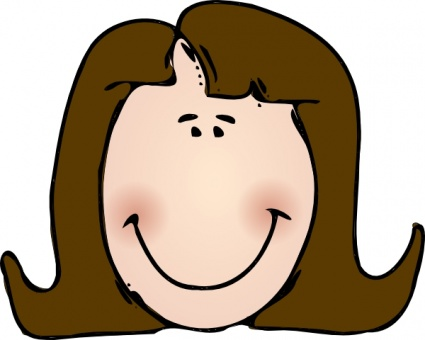 425x340 Clipart People Faces