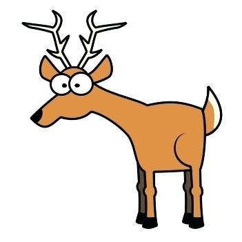 351x351 Deer Clipart Free Deer Clip Art Deer Head Silhouette Clip Art Free