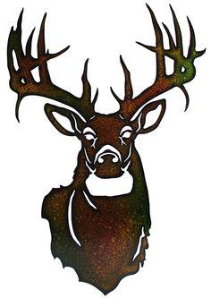 236x333 Deer Head Silhouettes