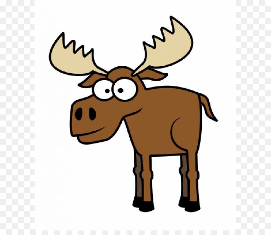 900x780 Moose Deer Drawing Cartoon Clip Art