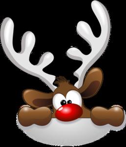 258x300 Reindeer Head Clip Art