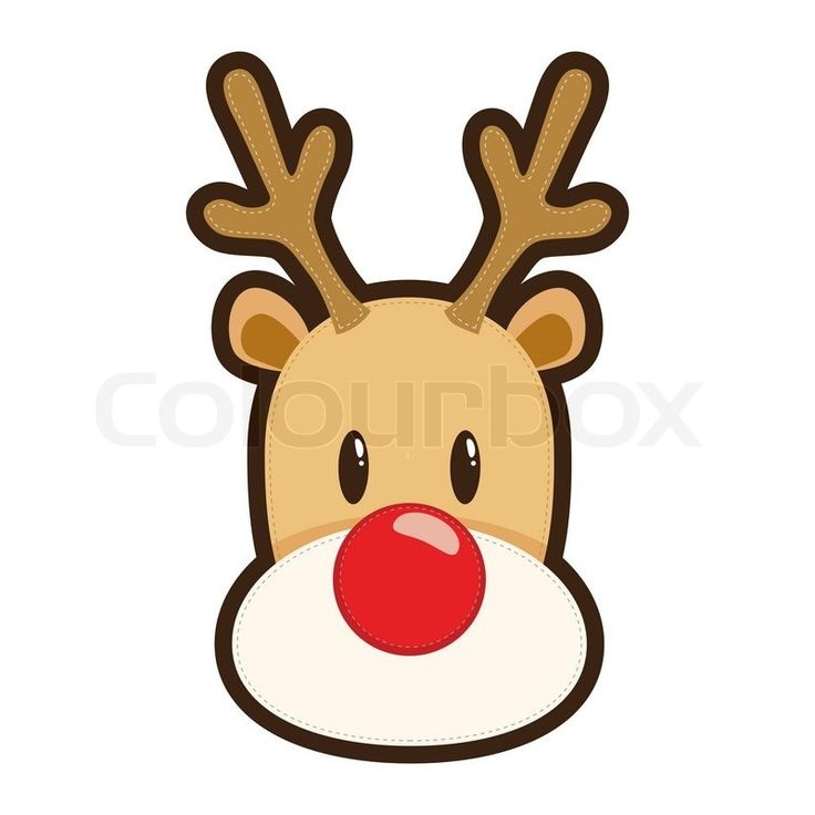 736x736 Collection Of Rudolph Reindeer Head Clipart High Quality