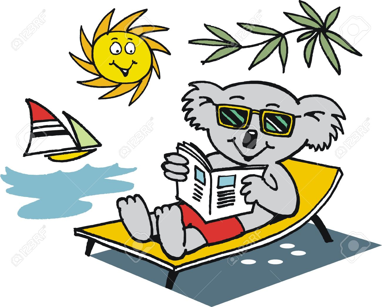 1300x1044 Relax Clipart Warm Weather