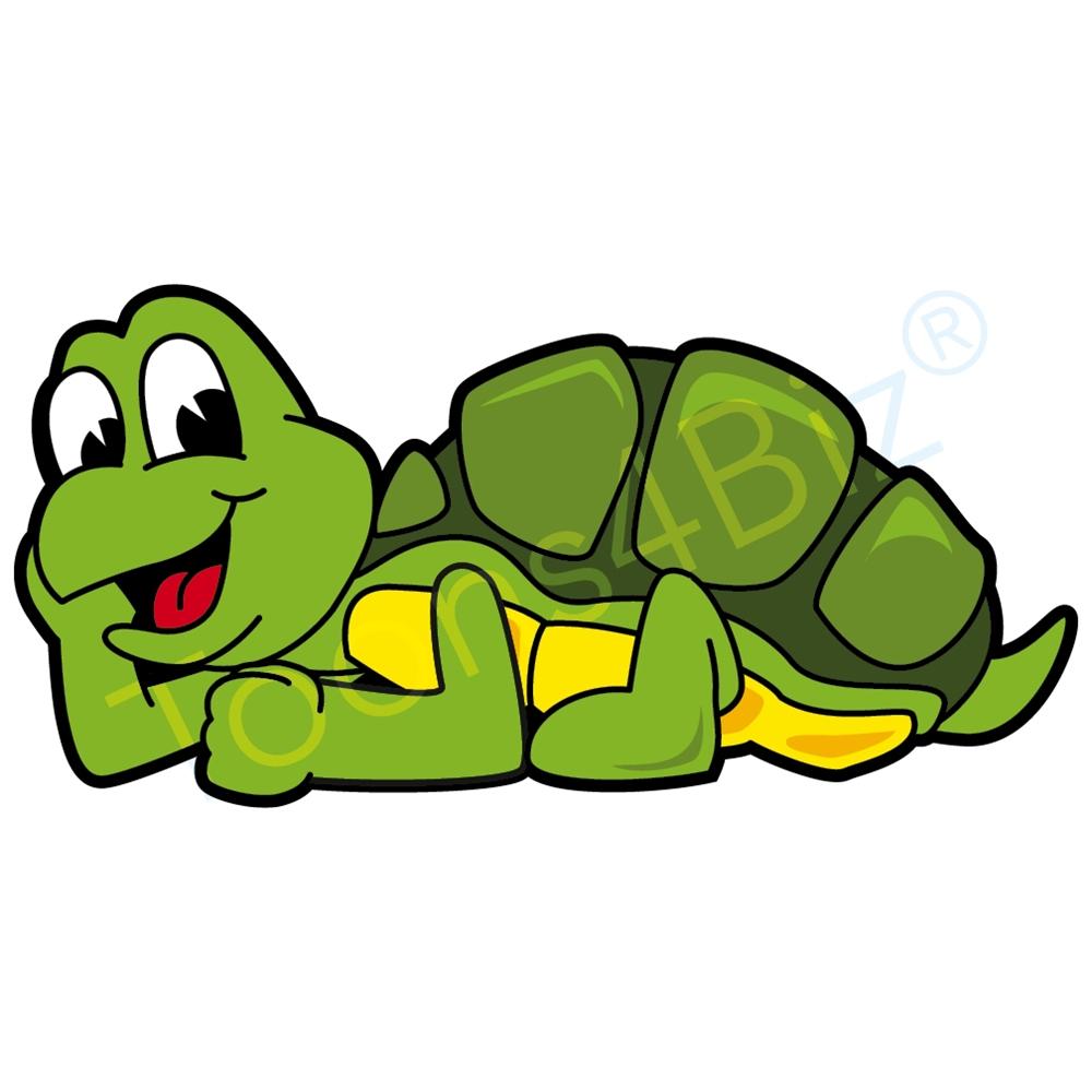 1000x1000 Turtle Mascot Relaxing Clip Art