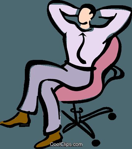 425x480 Man Relaxing