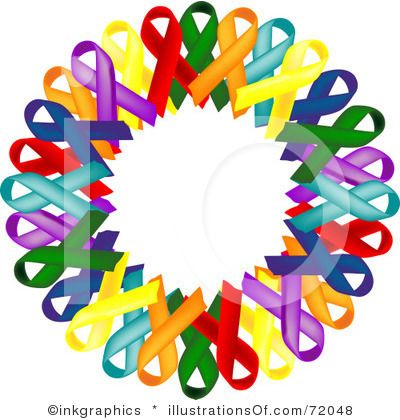 400x420 Free Clip Art Of Relay For Life Purple cancer ribbon clip art