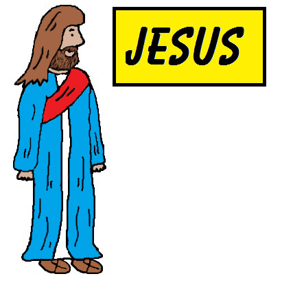 427x415 Jesus Clipart