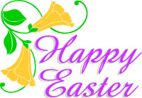 200x139 Easter Sunday Religious Clipart Free
