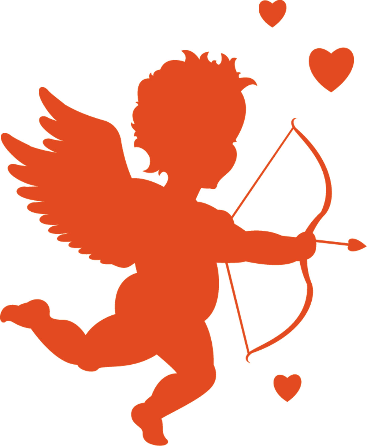 1200x1458 Cupid For Valentines Day Coloring Clip Art