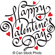 195x194 Happy Valentines Day Clip Art Black And White