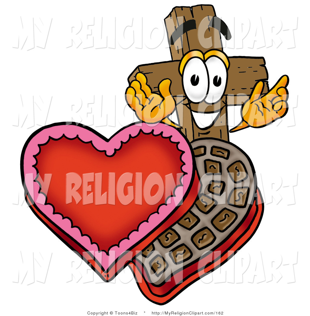 1024x1044 Religion Clip Art Of A Wood Christian Cross Mascot Cartoon