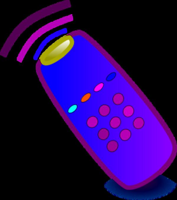 600x678 Remote Clipart