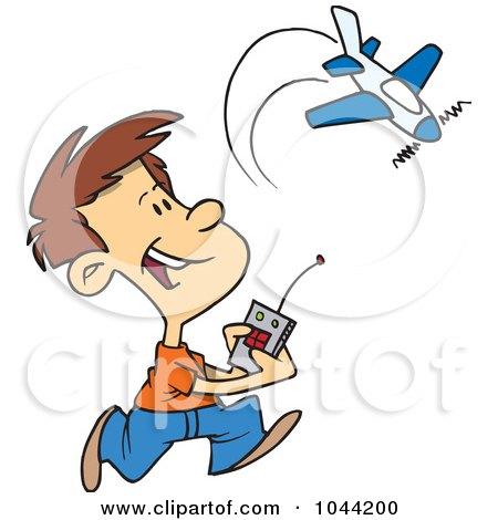 450x470 Royalty Free (Rf) Cliprt Illustration Of Cartoon Man Flying