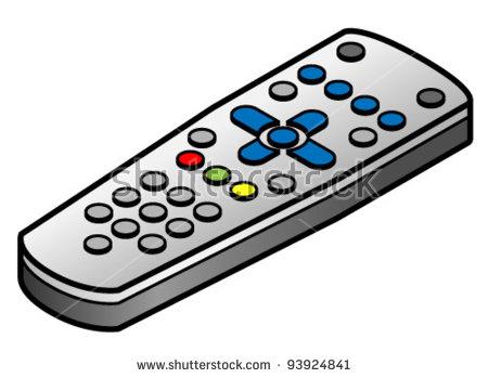 Remote Control Clipart