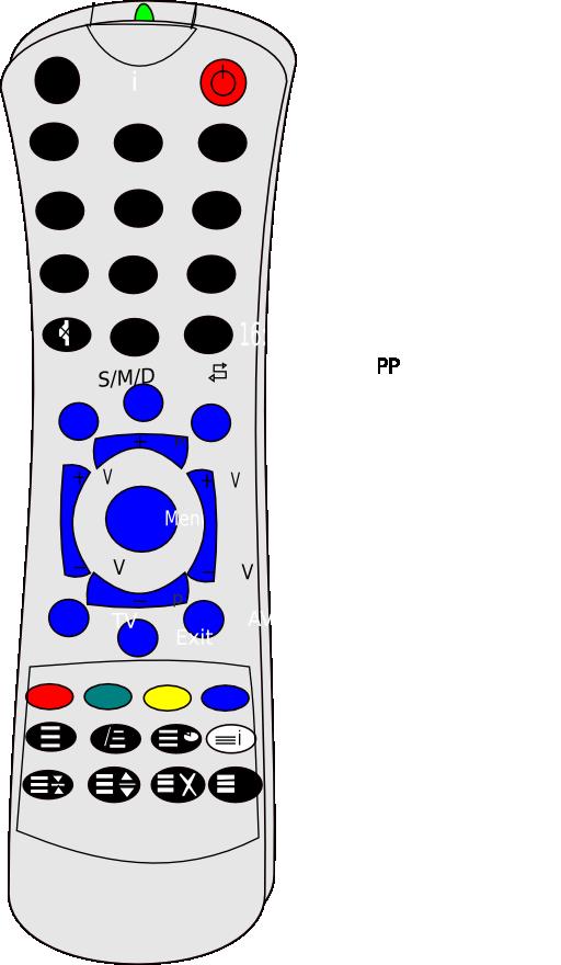 512x880 Remote Control Clipart I2clipart