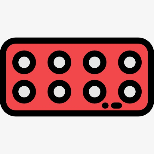 512x512 A Red Remote Control, Remote Control, Electric, Cartoon Png Image
